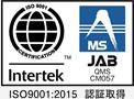ISO9001:2008取得